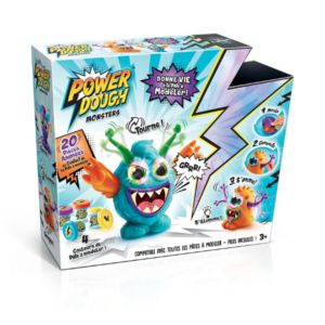 Pâte à modeler Crazy Monster Power Dough