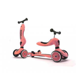 Porteur 2 en 1 évolutif en trottinette Highwaykick de Scoot and Ride