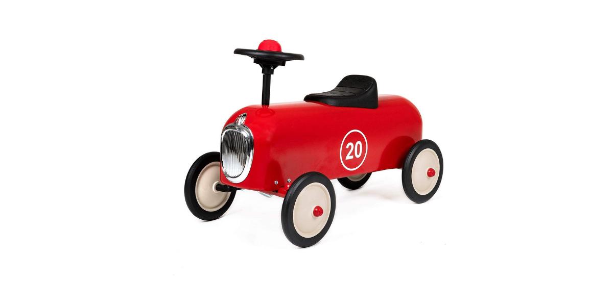 Porteur voiture racer rouge Baghera
