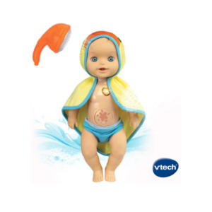 Poupée Little Love prend son bain VTech