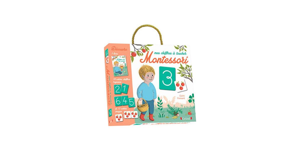 Mes chiffres à toucher Montessori Grund