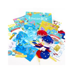 Box enfant loisirs créatifs ToucanBox
