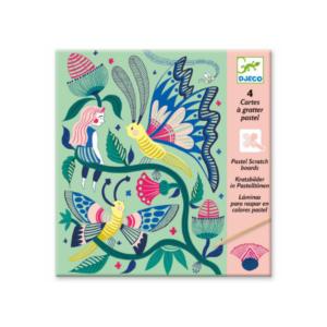 Cartes à gratter Le Jardin Fabuleux Djeco