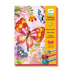 Tableaux à pailleter Motif Papillons Djeco
