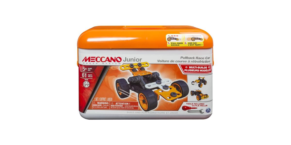 voiture à retrofriction Junior Meccano
