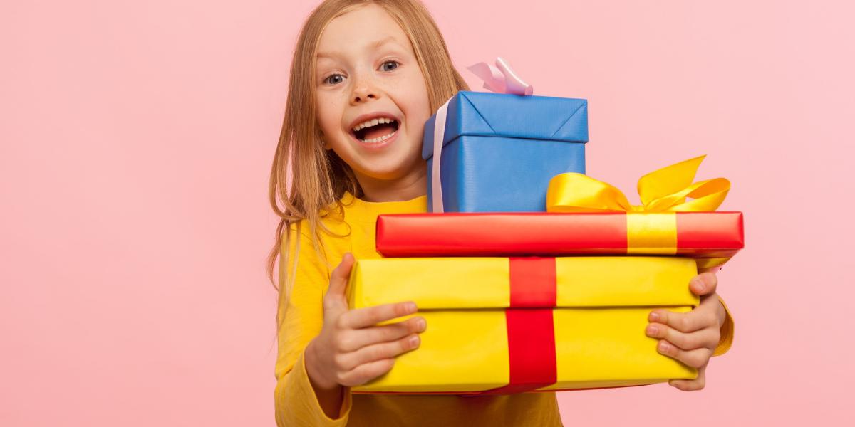 offrir un cadeau à un enfant de 9 ans