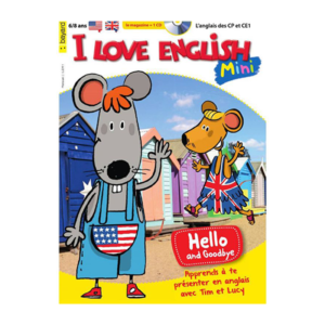 Magazine pour enfant I love english mini