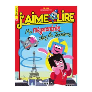Magazine pour enfant J'aime lire