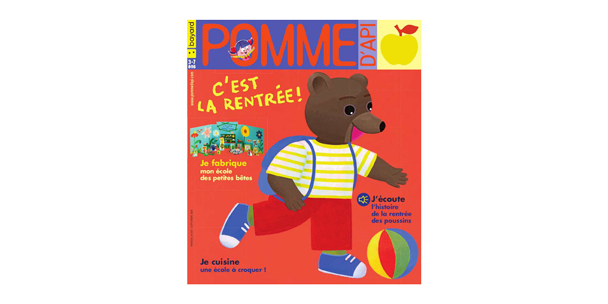 Magazine enfant Pomme d'Api