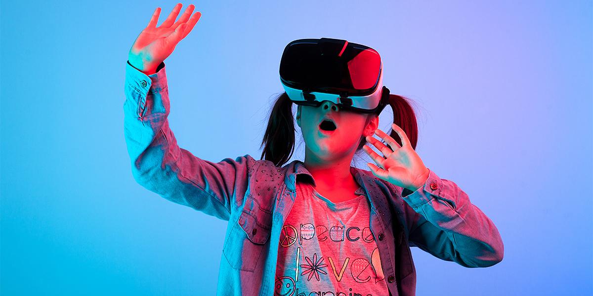 Session de réalité virtuelle