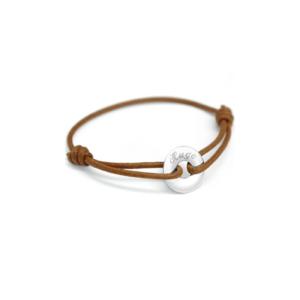 Bracelet cordon Mini jeton Petits trésors