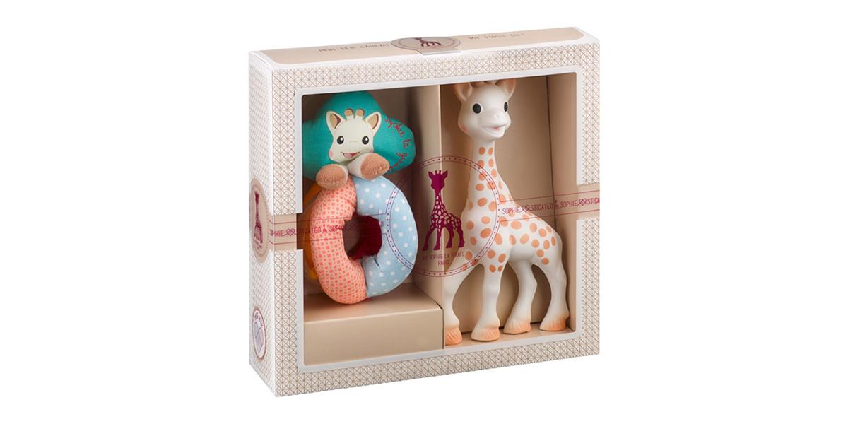 Coffret naissance Sophiesticated Sophie la girafe