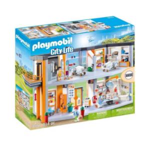 Hôpital-aménagé-Playmobil