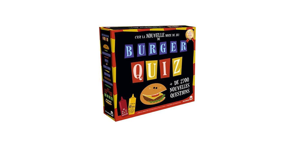 burger quiz dujardin
