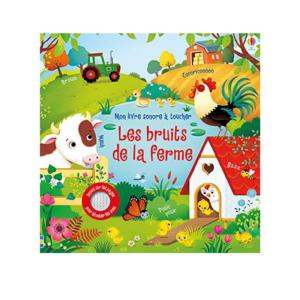 livre sonore les bruits de la ferme