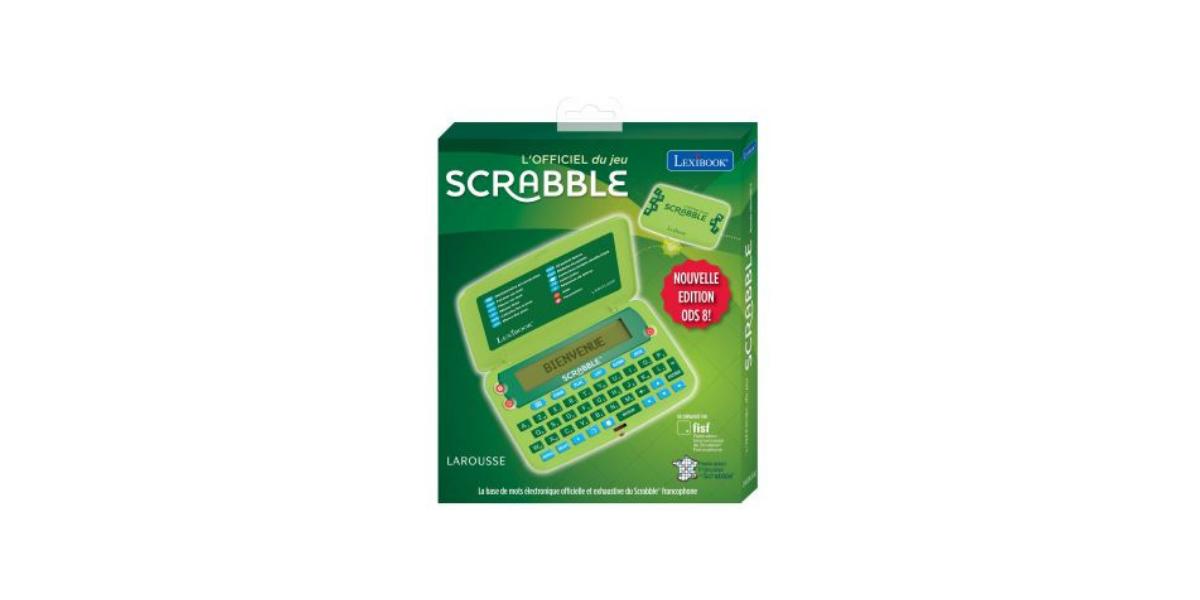 Dictionnaire électronique Lexibook Scrabble Nouvelle édition