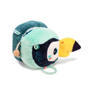 Livre bébé Pablo le toucan découvertes Lilliputiens