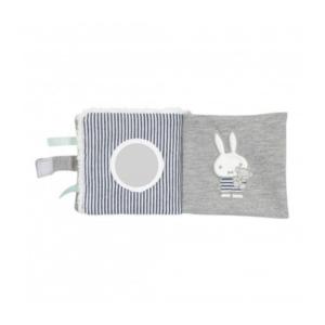 Livre bébé en tissu lapin Miffy marinière Pioupiou et Merveilles