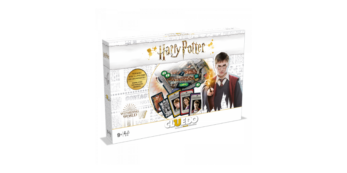 Cluedo Harry Potter Winning moves