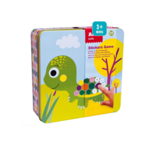 Kit gommettes Tortues Apli kids