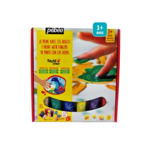 Kit de peinture aux doigts Pébéo