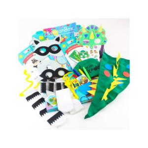Set déguisement de mardi gras ToucanBox