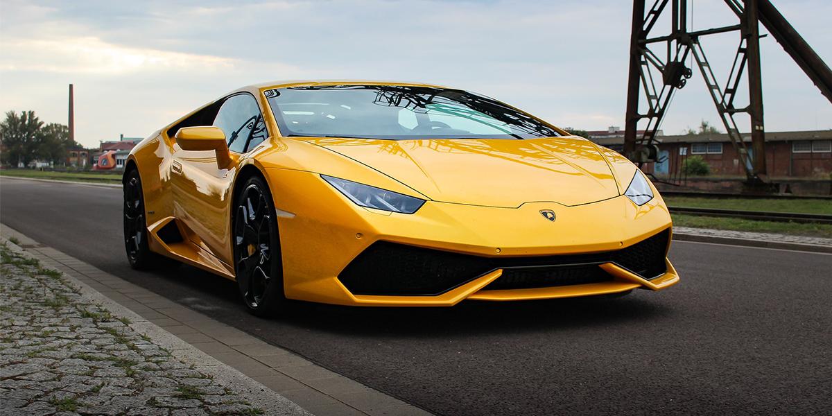 Baptême Lamborghini