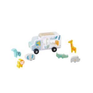camion-encastrement-jungle-multicolore-vertbaudet