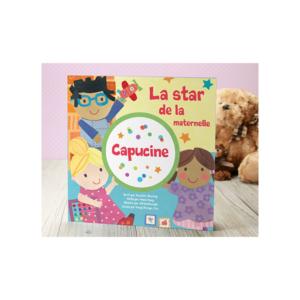 Livre personnalisé star de la maternelle